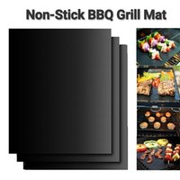 Non-Stick BBQ Grill Mat Thick Durable 33 * 40CM Gasgrill Grill Matte Wiederverwendbare No-Stick Barbecue Grill-Matten-Blatt Picknick Kochwerkzeug
