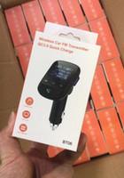QC3.0 충전기 핸즈프리가 지원 TF 카드를 호출와 BT06Q 블루투스 자동차 키트 자동차 MP3를 FM 선수 카드 자동차 어댑터