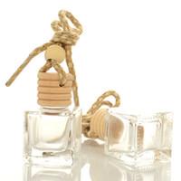 10ml carro pendurado Perfume Pendant garrafa vazia transparentes Ornamento Auto Glass óleos essenciais Difusor Automóveis Garrafas RRA2462