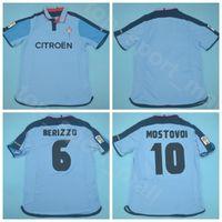 2003 shirt Kits 2004 RC Celta de Vigo Azul Retro Jersey Homens Soccer 10 Aleksandr Mostovoi 6 Berizzo 7 VAGNER equipe cor de Futebol
