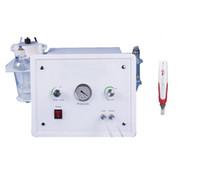 Taşınabilir Oksijen Yüz Kristal Elmas Mikrodermabrazyon Makinesi + Kore Mym Elektrikli Derma Kalem Microneedle Terapi
