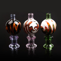 Hot sell US Color 28mm OD Glass Bubble Carb Cap For Flat Top...