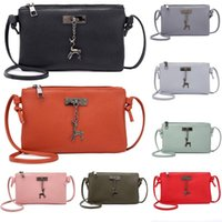 New Women Pu Leather Crossbody Bag ladies Korean style Small...