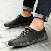 JAYCOSIN Men' s Leather shoes Fashion Men' s Outdoor...