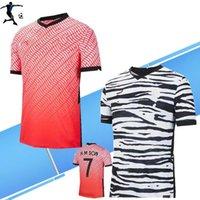 Novo 2020 Kore Soccer Jerseys # 7 H M Filho # 11 h C Hwang Camiseta Mens 6 I B Hwang Home Away Futebol Uniforme Camisas
