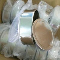 3,5g 100 ml leere Flasche Selbstdichtung Drücken Sie Blechdose keine Maschine Presstin-Schleifenoberteil mit Ring-Zug-Abdeckung für Trockenkräuter