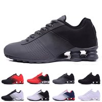separation shoes 74a96 7932c 2019 Shox Deliver 809 Running Shoes For Men Donna Triple White Black Red  Consegna OZ NZ