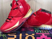 2020 K6 الجوائز الأحمر الذهب الأسود الرجال أحذية كرة السلة شيكاغو 6 ثانية بولز بطولة رجل مدرب الرياضة حجم 7-12