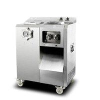 Büyük mutfak kıyma makinesi makine dilimleyici çok fonksiyonlu et kesme makinesi, otomatik çıkarılabilir bıçak grup eti kesici makine