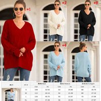New style batwing sleeve plain solid color women sweater cas...