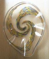 Дейл Chihuly Европейский Модный Большой Декоративное Стекло Тарелки Hanigng Стиль Chihuly Многоцветный Муранского Стекла Подвесные Стены Искусства Стены