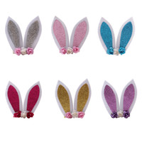6 Color Baby Headbands Rabbit ears Baby Girls Headband carto...