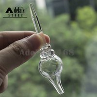 Стеклянная пузырьковая заглушка с прозрачным куполом Dabber для наружного диаметра 25 мм Гвоздь Banger Стеклянная трубка для воды Bong Dab Нефтяные вышки 761