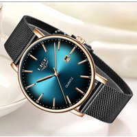2019 Simple Mode Femmes Montre LIGE Top Marque Quartz Luxe Creative Date de Waterproof Casual Ladies Watch Relogio Feminino V191217