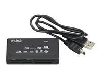 Universal-Micro in einem Memory Card Reader USB-externe SD SDHC Mini Micro M2 MMC XD CF Lesen und Schreiben Flash-Speicherkarte