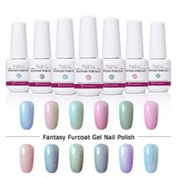 8ML Holographic UV Nail Gel Shell Gatto occhio Gel Nail Polish LED Lampada Gelpolish Chameleon Soak Off Semi permanente Lacca Fortunata