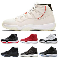 High Quality 11 Space Jam Bred Concord Basketball Shoes retr...
