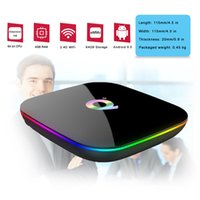Q Plus Android tv Box Quad Core 4GB 64GB Android 9. 0 H6 Chip...