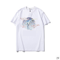 Tasarımcı Kadın T Shirt Kısa Kollu Yuvarlak Boyun Baskılı Resim Yaz Lüks Gömlek Marka Moda Rahat Kadın Tasarımcı T Shirt2V