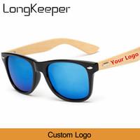 Toptan Özel Logo Bambu Ayak Güneş gözlüğü Erkekler Ahşap Güneş Kadınlar Orijinal Ahşap Güneş Gözlükleri Customerized 20 adet / set