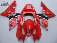 Kit su ordinazione libero carenature per Kawasaki Ninja ZX10R 2004 2005 ABS kit in plastica moto carenatura 04-05 ZX10R 04 05 ZX 10R