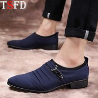 Lazy Shoes Man Shoe Leather Luxury Sneakers Summer Large Siz...