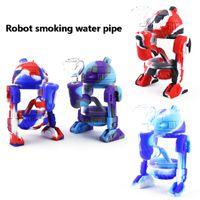 5,3-дюймовый робот силиконовые курительная трубка нектар коллектор мазок соломенные установки трубы для воска робот курительная трубка