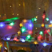 نجم ستار LED فعاش ضوء 3M 6M LED ضوء الزخرفية مع بطارية USB LED عيد الميلاد ضوء سلسلة لقضاء عطلة حفل زفاف CRESTECH