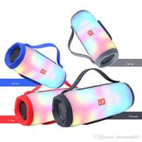 Rádio E17 sem fio Bluetooth Speakers TF USB BT FM mais novo Subwoofer ao ar livre Pill LED portátil XL Partido Speaker Boa Big Sound