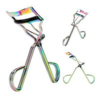 1pcs Eyelash Curler Colorful Titanium Steel Eyelash Clip Cur...