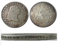 US 1795 dollaro fluente dollaro placcato argento placcato copia monete mestiere mestiere muore produzione fabbrica prezzo