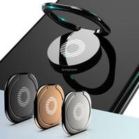 Mini-Telefon-Ring-Fingerringhalter-Metall-Stand-Mount-Smartphone-Halter für Xiaomi Samsung S20 Ultra-Tablet-Handy tragbar