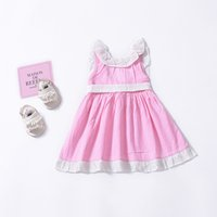 Sweet Summer Baby Girl cotton dresses Toddler clothes Pan co...