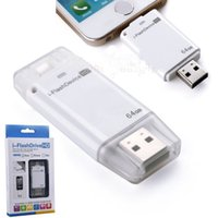 32g 128g usb flash drive 64g i-flash drive hd memory stick usb pendrive para iphone / ipad / pc / mak armazenamentos