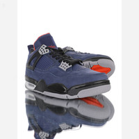 Nike Jordan AJ4 Retro Winterized Loyal Blue 2020 Die besten neuen 4 4s Retro Basketball-Schuhe Winterized Loyal Blau Weiß Ausbildung Habanero Rot Schwarz Luxusschuhe CQ9597-401