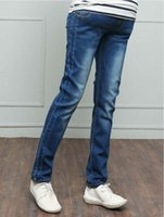 Casual Feet Pants Jeans Nine Points Straight Loose Trousers ...