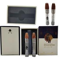 510 VAPE-Kassettenverpackungen Leerer Vape-Stift-Verdampfer-Stift große Patronen 0.8ml Glas dicker Öl Zerstäuber E Zigaretten-Vape-Karren
