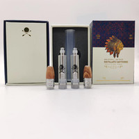 Big Chief Vape Cartridges Verpackung 0,8 ml Keramik Coil Wood Tip leeren Vape Pen Carts Thick-Öl-Wachs Vaporizer 510 Gewinde