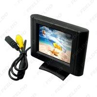 Auto Digital 2.5inch Abnehmbare RCA-Videoansicht TFT-LCD-Monitor für DVD-Rückfahr-Park-Sensor-Kamera # 1365