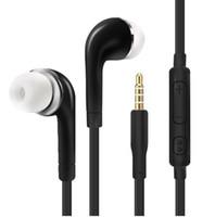 Kablolu Kulaklıklar Süper Bas 3.5mm Kulaklık Kulaklık Eller Serbest Kulaklıklar Için Mic ile Xiaomi iPhone Samsung S4 S5 S6 S7 S8