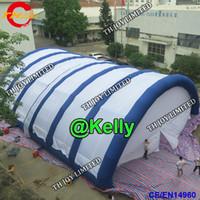 15x10m gigante inflável arco tenda para eventos ao ar livre evento do partido tenda tenda de tênis quadra de tênis inflável branco comercial