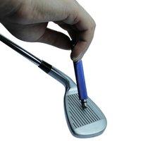 Golf Club Head Groving Tool Tool Golf Club Lelege Клина Затоковая инструмент V Форма Groove Резчик Инструмент для гольфа Учебные помощи