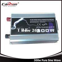 Бесплатная доставка 300 Вт чистая синусоида портативный автомобиль грузовик лодка USB DC 12 В до AC 220 В Super Power инвертор конвертер зарядное устройство