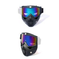 ACCIÓN US! Pasamontañas al aire libre Deportes cuello esquí de la mascarilla casquillo del viento Snowboard Policía Ciclismo Pasamontañas de la motocicleta de la cara Máscaras FY6270