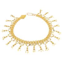 Magazzino americano nuovo oro e argento in lega fiore pendente a vita in vita catena signore pancia danza di danza moda accessori moda donne gioielli gif