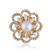 moda amor diseñador accesorios encantos Broche de perlas Mujer Flor Traje de hombre Broche Ropa Adornos Pin Conjuntos de joyas para mujeres hombres
