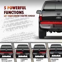 """Bianco rosso camion di direzione del segnale posteriore della coda posteriore della coda posteriore da 60 """"60"""" la sostituzione della barra della barra della striscia del LED per FORD F150 F250 F350 F450 Super Duty Universal"""