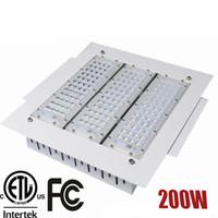 Reflectores de 200W LED 200W Canopy Light 50W 100W 150W High Bay Light Empotrable montado para la estación de GAS AC Light Light 85-277V