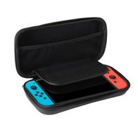 2019 venta caliente para Nintendo Switch Juego Bolsa de transporte Estuche rígido EVA shell Bolsa portátil de alta calidad Bolsa protectora DHL Shippin libre