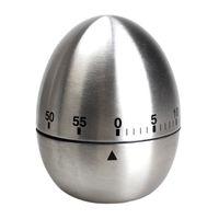Apple 계란 기계식 계란 주방 조리 타이머 알람 60 분 스테인레스 스틸